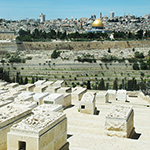 Old City of Jerusalem from Mt. of Olives