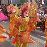 Masskara Festival in Bacolod City, Negros Island