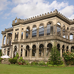 The Ruins of Lacson Mansion, Bacolod City, Negros Island